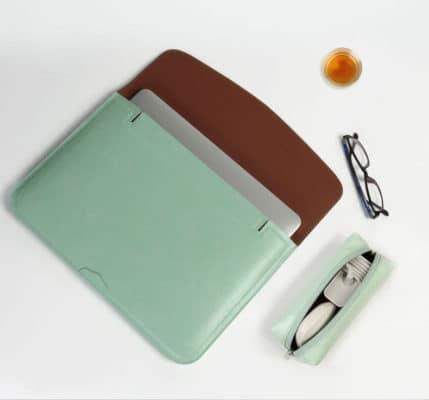 Combo Túi Da Đựng Macbook