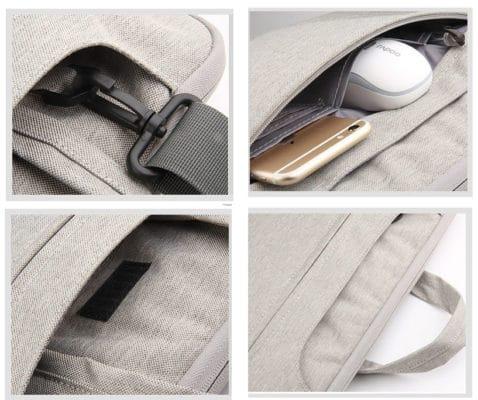 Túi chống shock Macbook dây đeo chéo