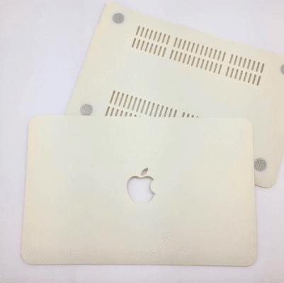 Case Macbook Màu Pastel (Kem)