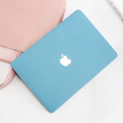 Case Macbook Màu Xanh Dương Pastel