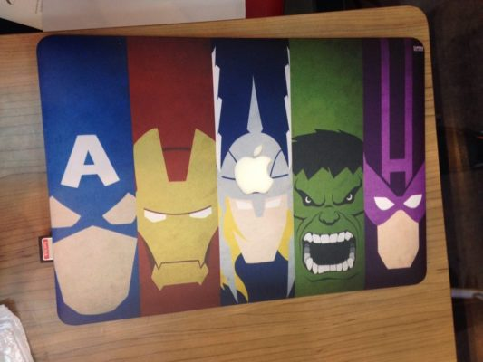 Case Macbook phiên bản Avenger