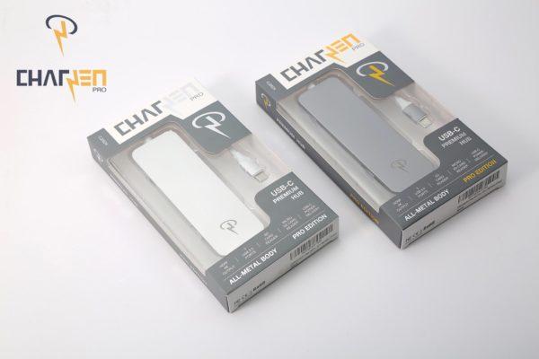 Hub USB Type-C CharJen Pro Premium 7trong1