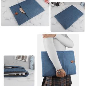 Túi chống shock xanh dương