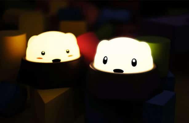 Đèn Led Thông Minh Chuột Chũi Diglett để trong đêm