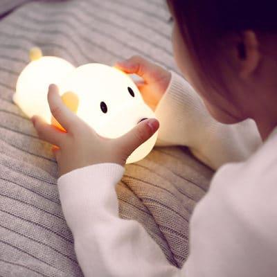 đèn led thông minh cún con