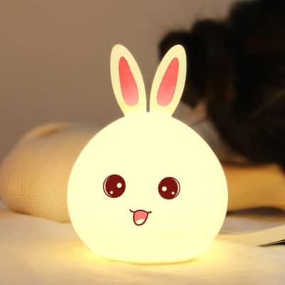 Đèn Led Thông Minh Thỏ 6 Màu
