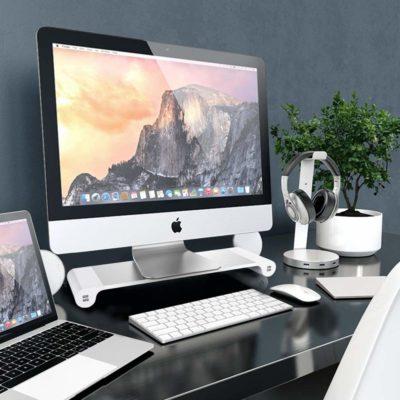 Kệ để Imac/Macbook có ổ cắm USB