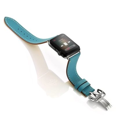 Dây da Apple Watch Deployment Buckle