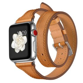 Dây da Apple Watch Double Tour
