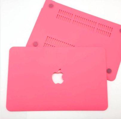 Case Macbook Màu Đỏ Pastel