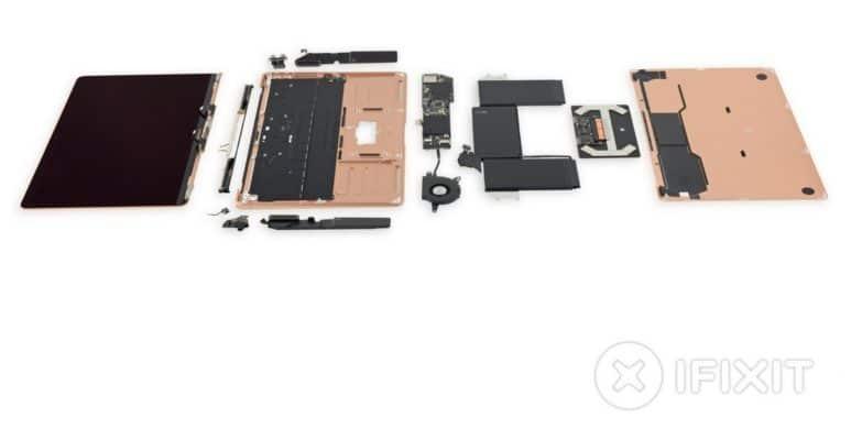Lột trần MacBook Air 2018 mới thấy Apple sắp xếp linh kiện đẹp mắt tỉ mỉ như thế nào 2