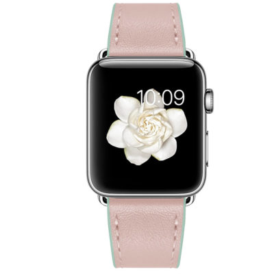 Dây Đeo Da Jinya Twins Cho Apple Watch