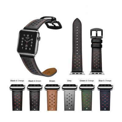 Dây Đeo Da Jinya Vogue Leather Cho Apple Watch